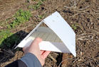 sticky cards can remain in the field for 1 to 2 weeks (depending on the amount of pest or dust).